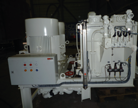 Tecnospirit electric driven hydraulic power unit